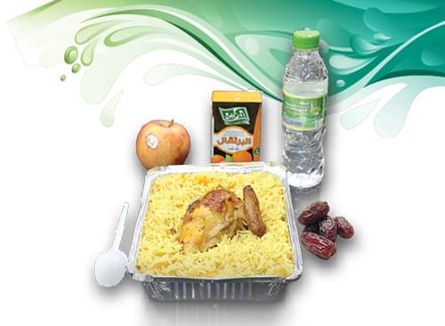 إفطار صائم في رمضان (وجبة ساخنة)