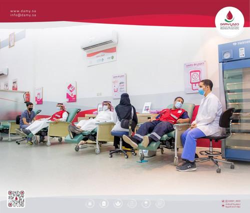 حملات التبرع بالدم اليومية